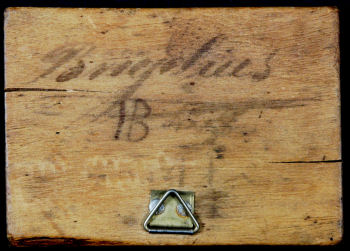 18 th century mold, signature