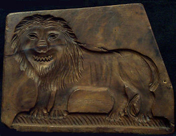 Lion mold